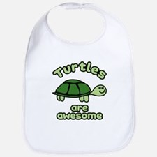 Turtles are Awesome Bib