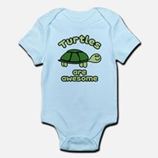 Turtles are Awesome Infant Bodysuit