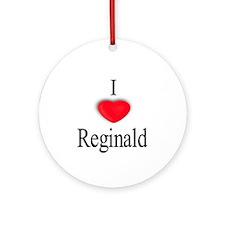 Reginald Ornament (Round)