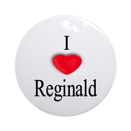 Reginald Ornament (Round)