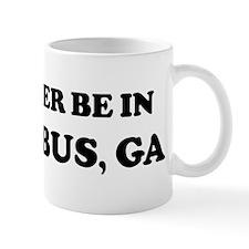 Rather be in Columbus Mug