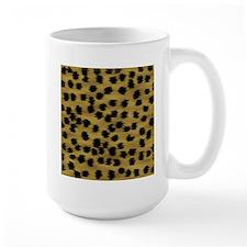 Faux Cheetah Animal Print Mug