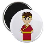 "Cute Roman Emperor 2.25"" Magnet (10 Pk)"