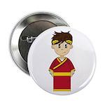 """Cute Roman Emperor 2.25"""" Button (10 Pk)"""