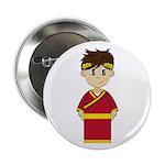 """Cute Roman Emperor 2.25"""" Button"""