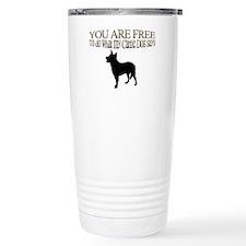 Cattle Dog Says Travel Mug