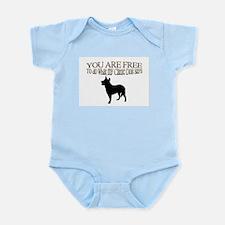 Cattle Dog Says Infant Bodysuit
