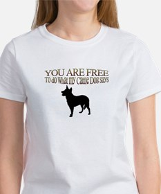 Cattle Dog Says Tee