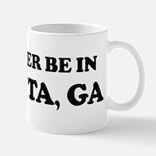 Rather be in Atlanta Mug