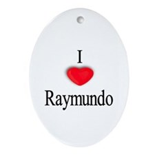 Raymundo Oval Ornament