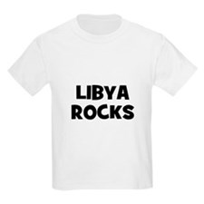 LIBYA ROCKS Kids T-Shirt