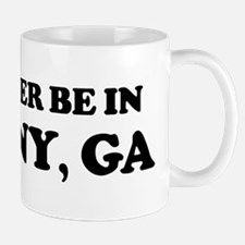 Rather be in Albany Mug