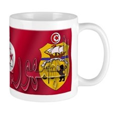 Silky Flag Tunisia/Arab Mug