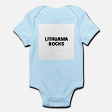 LITHUANIA ROCKS Infant Creeper