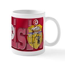 Silky Flag of Tunisia  Coffee Mug