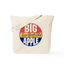 New York Vintage Label Tote Bag
