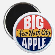 New York Vintage Label Magnet