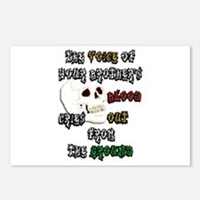 Blood Cries Out Postcards (Package of 8)