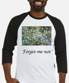 Forget-me-not Baseball Jersey