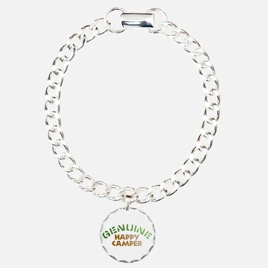 Genuine Happy Camper Bracelet