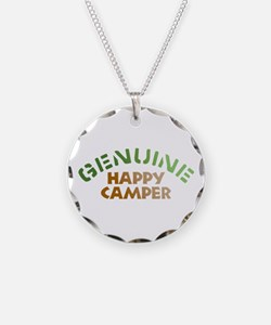 Genuine Happy Camper Necklace