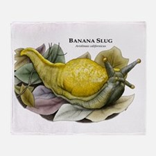 Banana Slug Throw Blanket