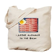 Allegiance To the Bacon Tote Bag
