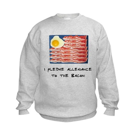 Allegiance To the Bacon Kids Sweatshirt