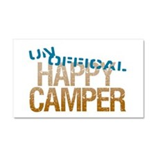 Unofficial Happy Camper Car Magnet 20 x 12
