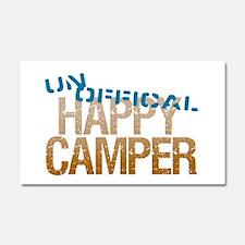 Unofficial Happy Camper Car Magnet 20 x 12