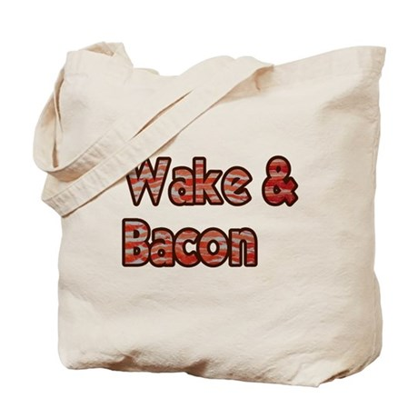Wake And Bacon Shirt Tote Bag