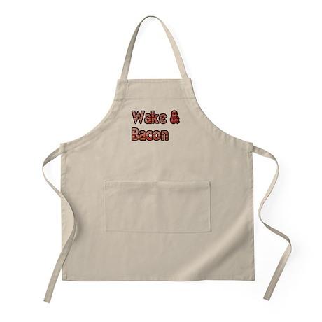 Wake And Bacon Shirt Apron