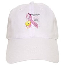 This Chick Wears Pink for my Baseball Cap