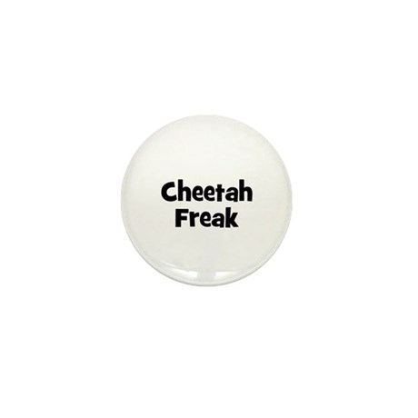 Cheetah Freak Mini Button (10 pack)