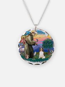 St.Francis #2/ Eng Springer ( Necklace