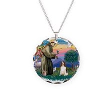 St.Francis #2/ Eng Springer ( Necklace Circle Char