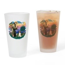 St.Francis #2/ Eng Springer ( Drinking Glass