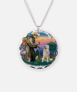 St.Francis #2/ Pyrenees #1 Necklace