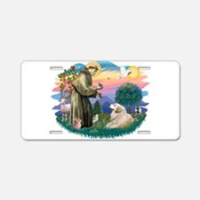 St.Francis #2/ Pyrenees#2 Aluminum License Plate