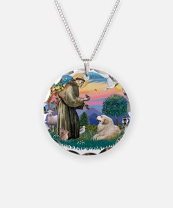 St.Francis #2/ Pyrenees#2 Necklace