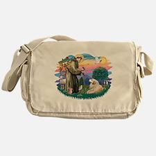 St.Francis #2/ Pyrenees#2 Messenger Bag