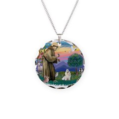 St.Francis #2/ Havanese (whit Necklace