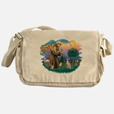St.Francis #2/ Ital Grey (f) Messenger Bag