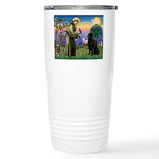 Saint Francis' Newfie Thermos Mug