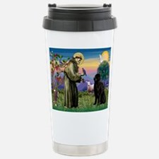 Saint Francis' Newfie Travel Mug