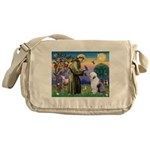 ST. FRANCIS + OES Messenger Bag