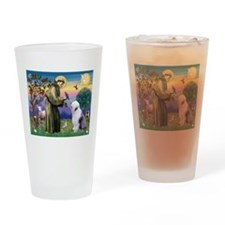 ST. FRANCIS + OES Drinking Glass