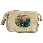 St.Francis #2/ PWD (ret cut) Messenger Bag
