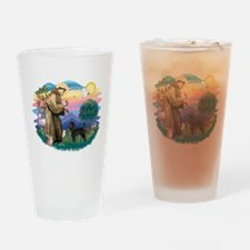 St.Francis #2/ PWD (ret cut) Drinking Glass