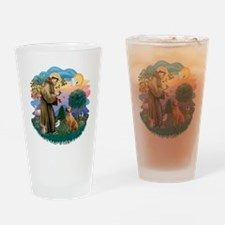 St Francis #2/ R Rback #2 Drinking Glass